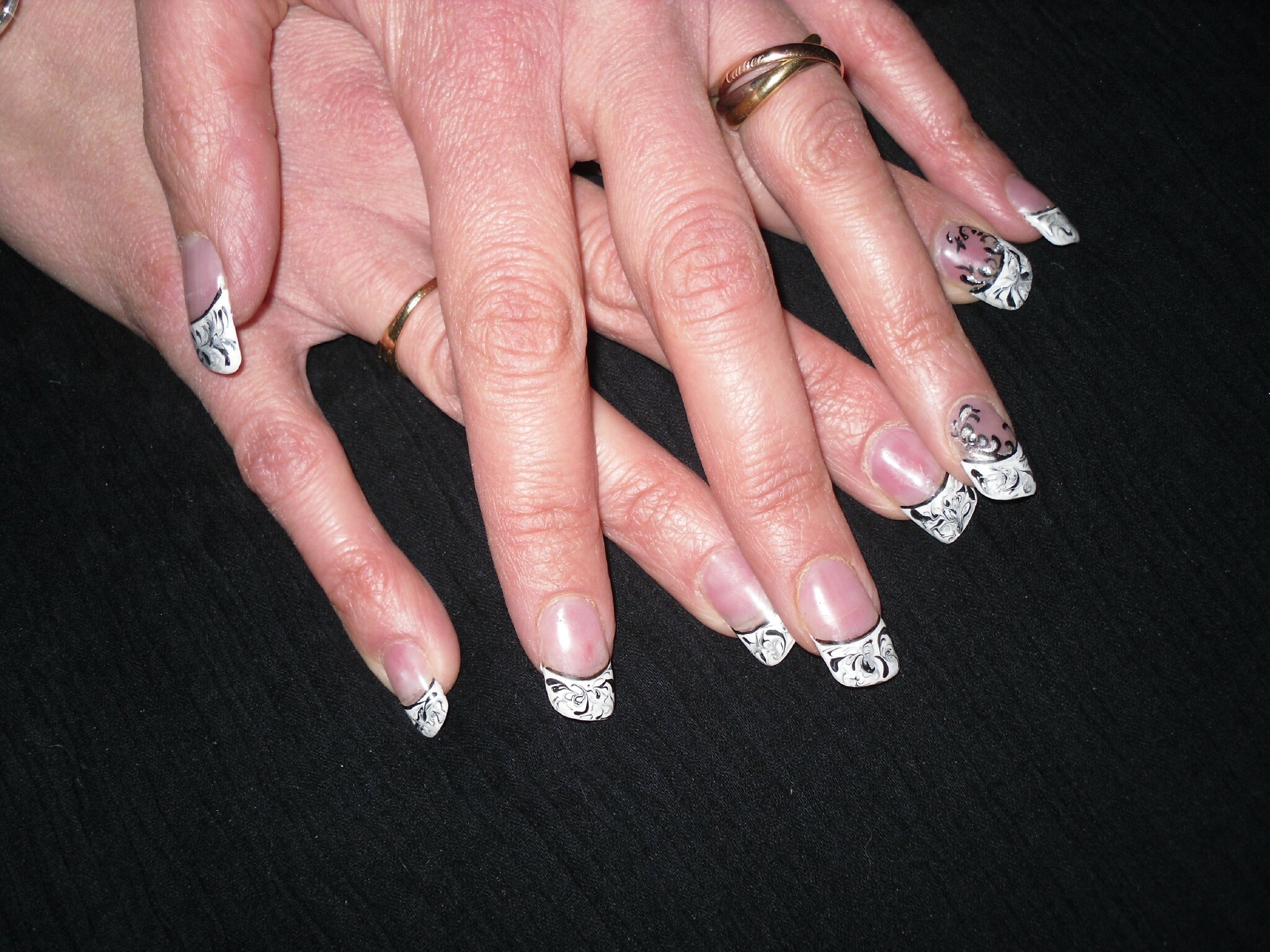Top French Original - Photo de Modèles - PASSION'NAIL, ONGLE EN GEL LA74