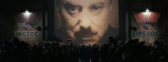 Nineteen-Eighty Four 1984 Big Brother