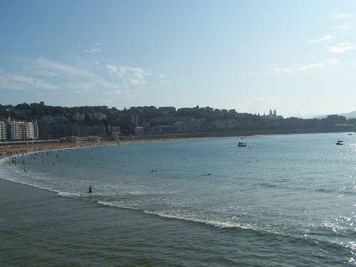 San Sebastian-plages de la Concha et d'Ondarreta