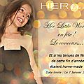 Her little world en fête !