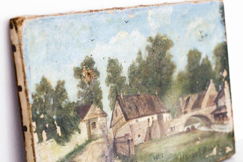 Petit tableau style XVIIIème TRENDY LITTLE 4