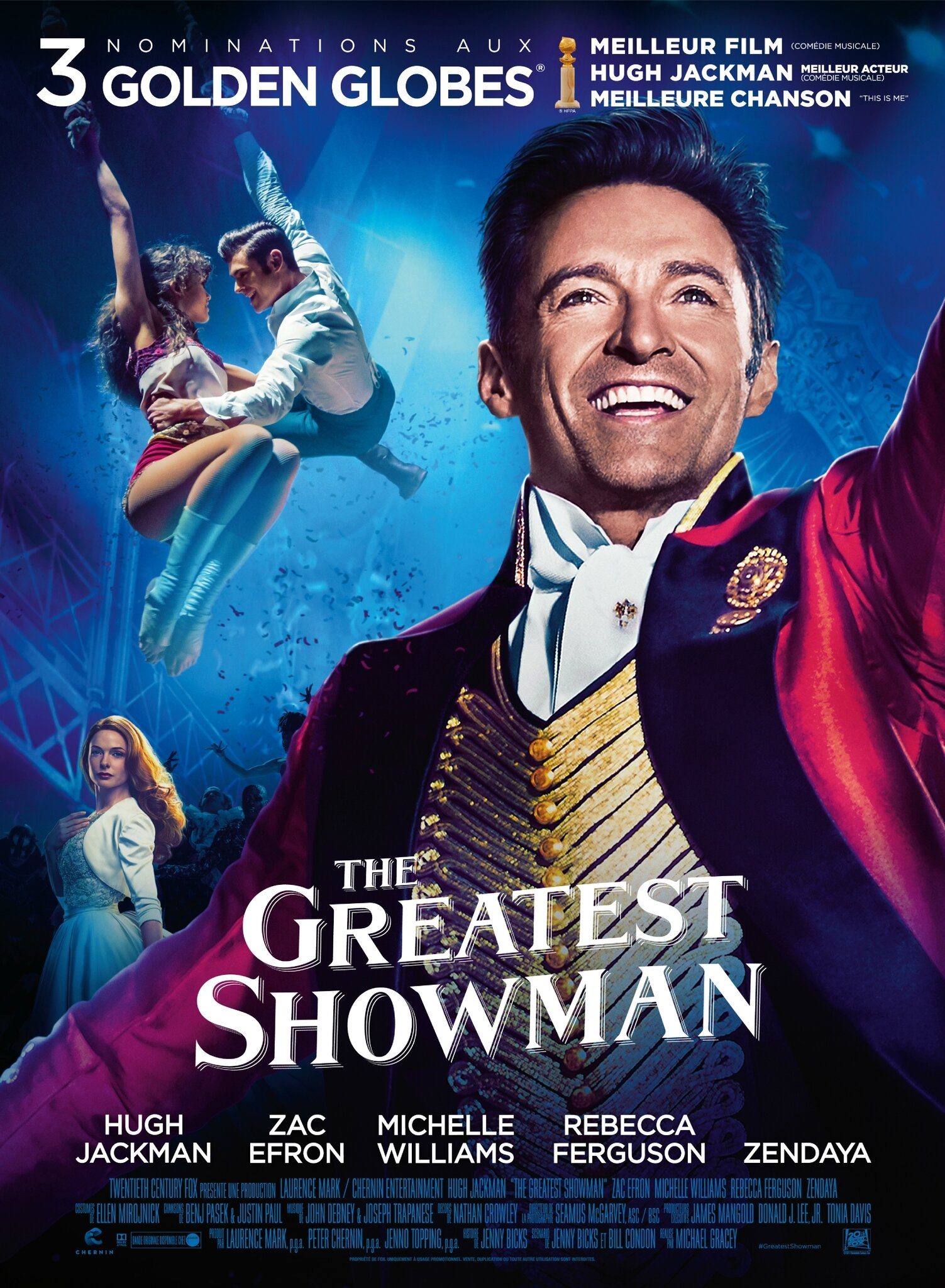 Inerente Awesome the greatest showman - disney news