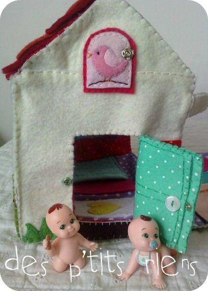 maison de poupée transportable