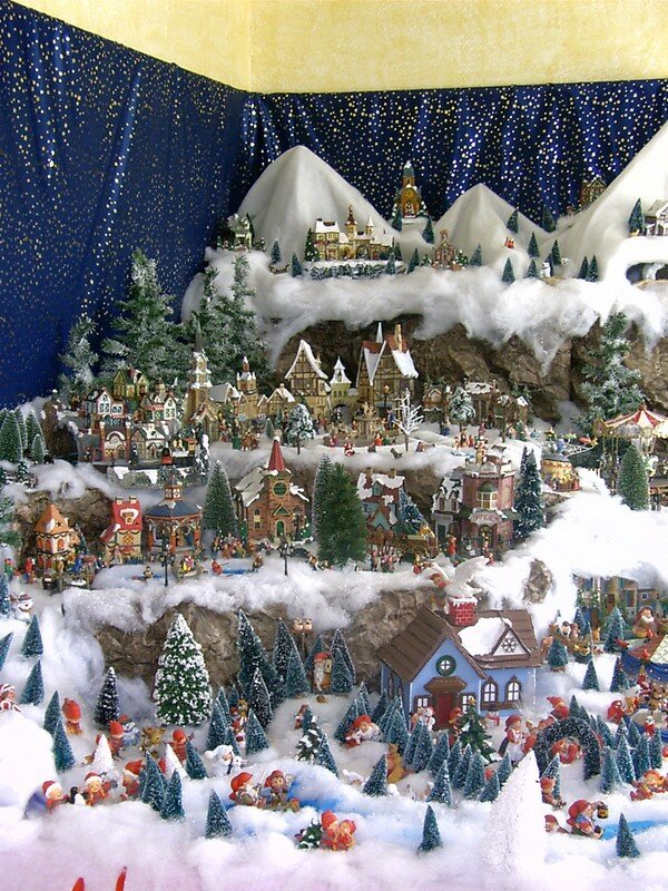 Pdr 0071 photo de village de no l 2004 noel miniature - Village de noel miniature ...