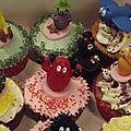 Les cupcakes barbapapa pour les 1 an d'un petit