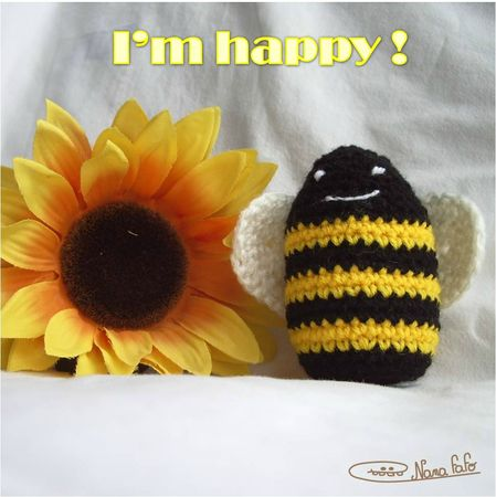 Abeille crochet 2
