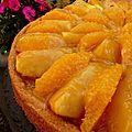 Tarte tatin pomme-rhubarbe selon christophe felder.
