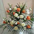 OEILLETS ET MIMOSAS, passion fleurs