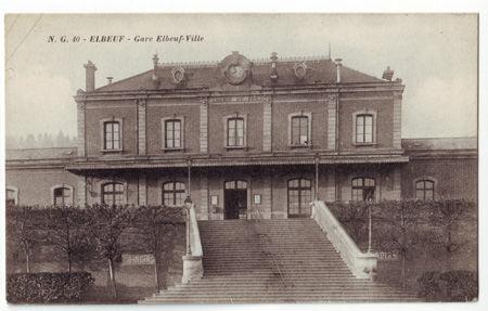 76 - ELBEUF - Gare de Elbeuf Ville