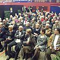 Un nombreux public pour la conférence de J-Y. Frétigné