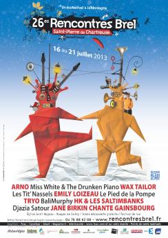 rencontres brel 2013 programmation Ajaccio