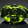 German-cut stunning and immense peridot, pakistan