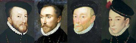 Portraits français vers 1565