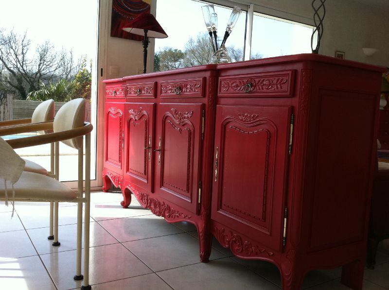 Relooking de meubles inezemoon cr ations for Relooker meuble ancien bois