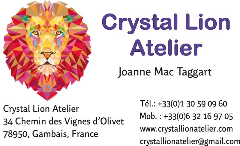 crystal Lion business card
