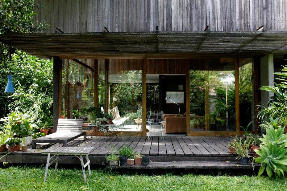Maison Avec Jardin Interieur #2: Un Jardin Avec Un Toit