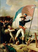 Charles_Thévenin_-_Augereau_au_pont_d'Arcole