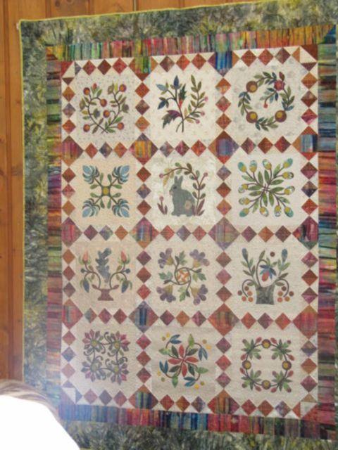 Salon europ en du patchwork ste marie aux mines le patchwork de sylvie - Salon du patchwork sainte marie aux mines ...