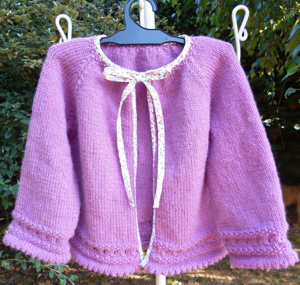 GILET TAILLE 4 ANS MARIE CHRISTINE