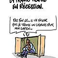 La france en récession symbolique