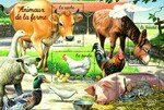 timbres_france_animaux_ferme