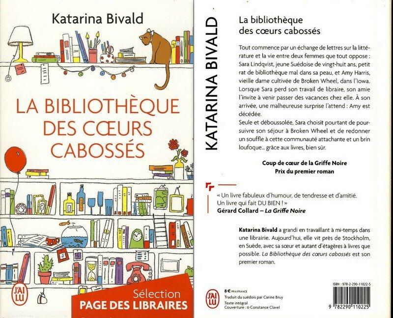 2 -La bibliothèque des coeurs cabossés - Katarina Bivald