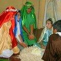 el 21 de diciembre: el Nacimiento en vivo; la Adoración de los Reyes Magos