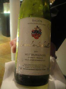 Facil Pinot blanc allemand J&W