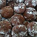 Crinkles chocolat sans lactose