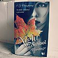 Night school t.2 : héritage, c. j. daugherty