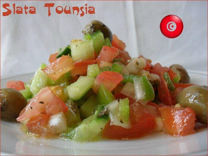 slata tounsia - salade tunisienne 1