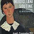 Modigliani, le triste, le maudit.