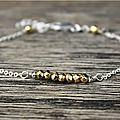 Magnifique ensemble de bracelets en argent massif