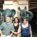 Y'a comme un air de famille avec l'éléphant et le rhino