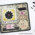 Carte Halloween L'Atelier de Framboise Chocolat