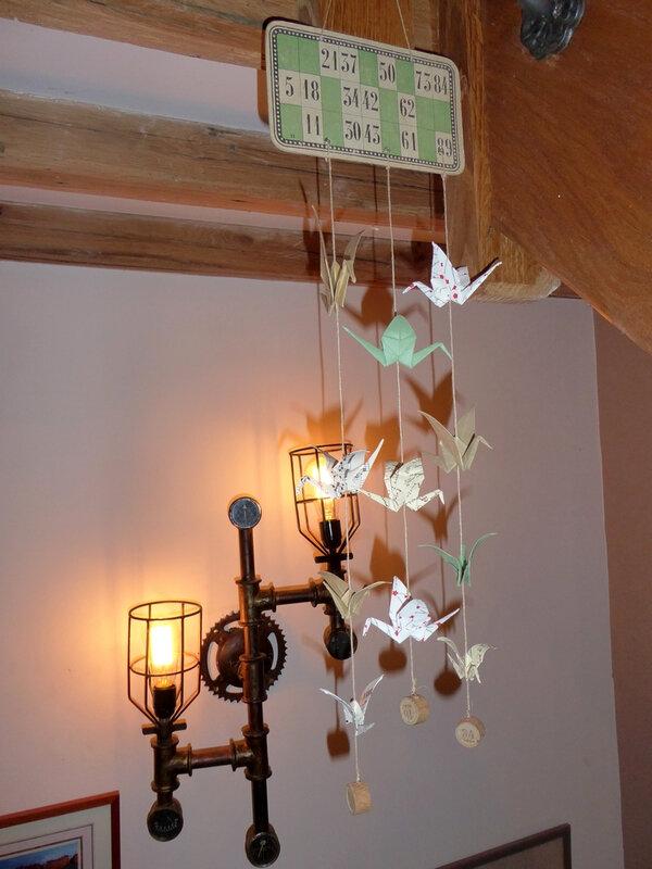 origami loto Jacqueline red