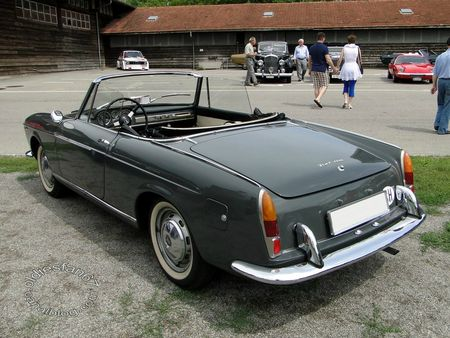 fiat 1200 tv spider, 1957 1963, osmt zug 2012 4