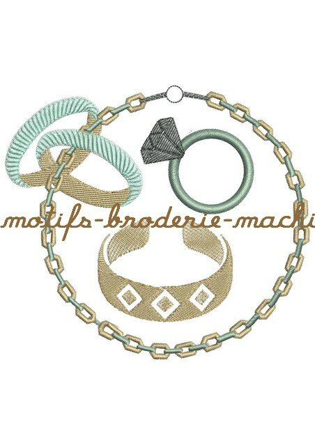 11collier 10cm llianes bijoux photo