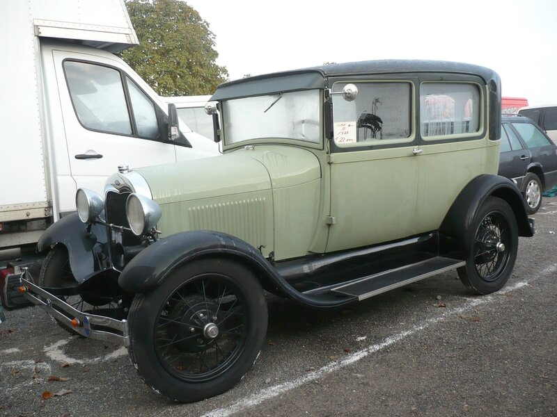FORD Model A 2door Sedan 1928 Mannheim (1)
