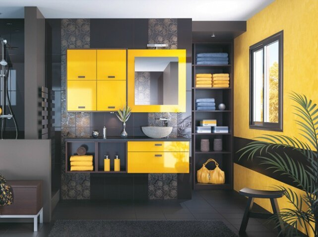 Salle-de-bains-jaune-noir-mobalpa_w641h478