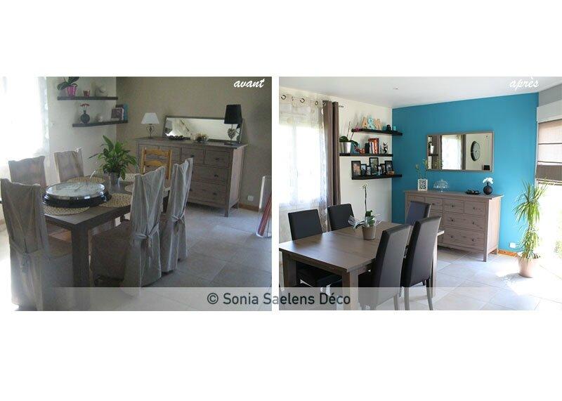 projet client une pi ce de vie moderne et lumineuse. Black Bedroom Furniture Sets. Home Design Ideas