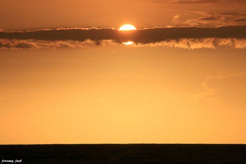 coucher de soleil grand'anse