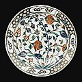 An iznik polychrome pottery dish, turkey, circa 1570-1580