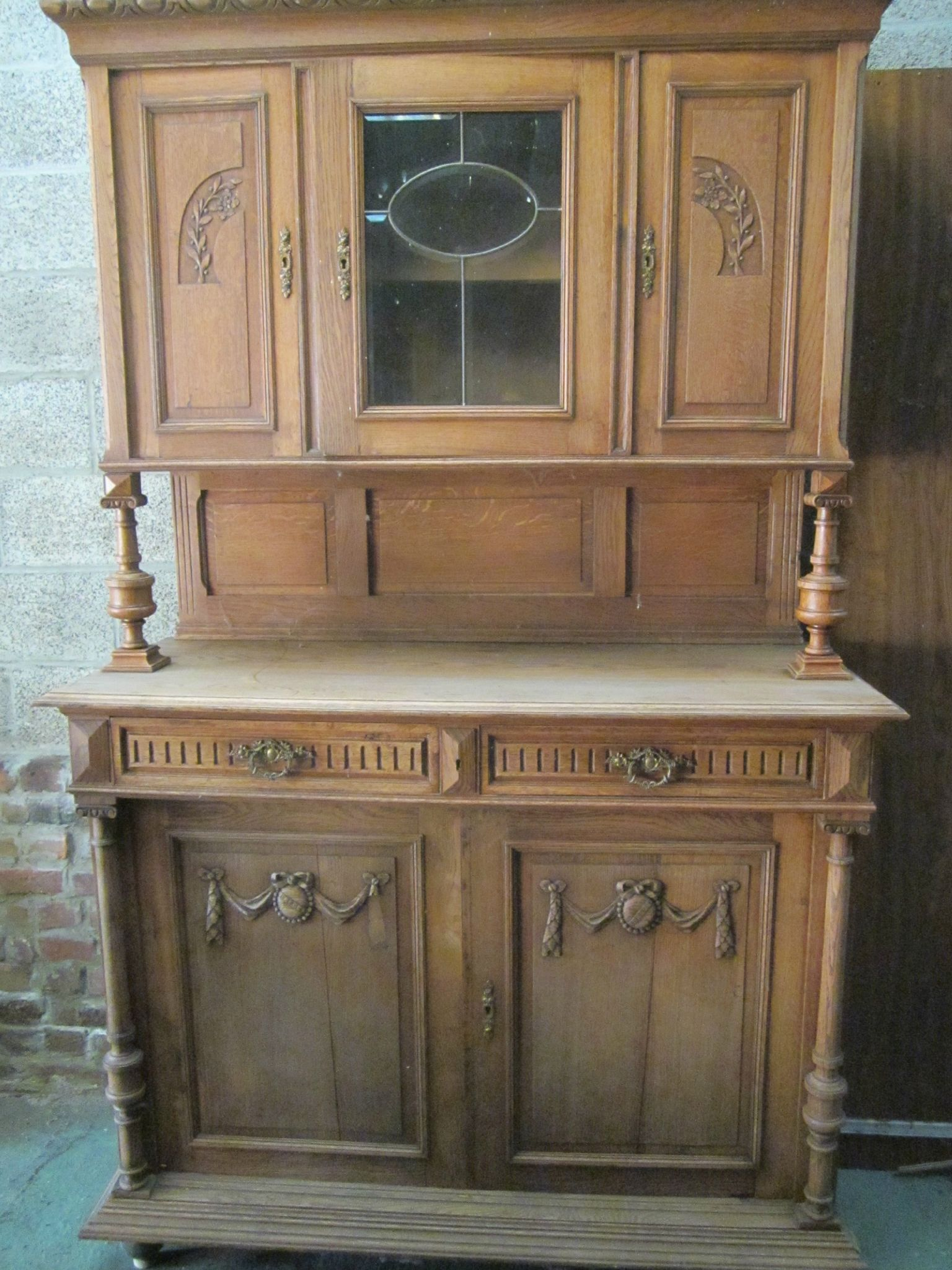 Buffet henri 2 photo de trouvailles relooker ma bulle for Meuble henri 2 relooke