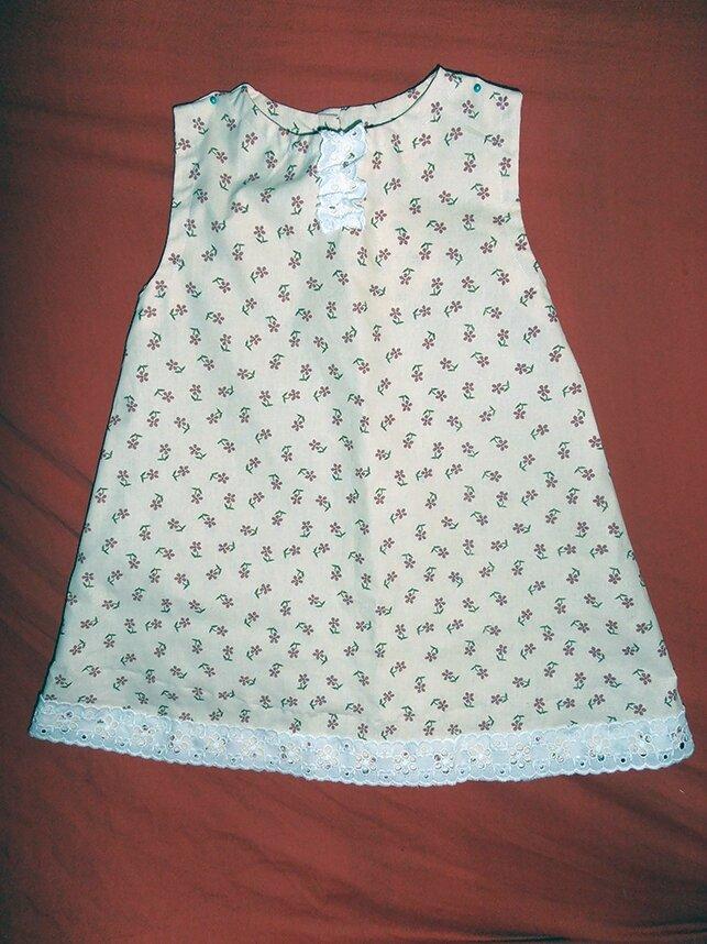 Patron de robe pour petite fille gratuit