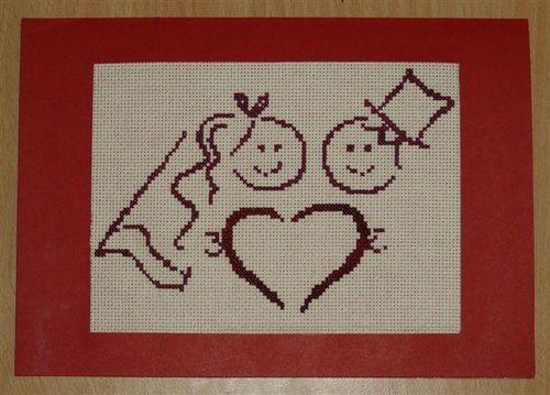 Stéphanie carte mariés