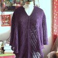 poncho victoria lace en alpaga de plassard