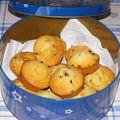 Les muffins de bergamote !