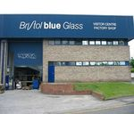 Bristol blue glass factory