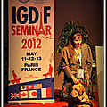 SEMINAIRE INTERNATIONAL CHIENS GUIDE D'AVEUGLES